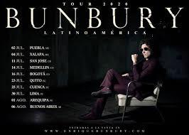 Puebla como sede de apertura para gira de Enrique Bunbury