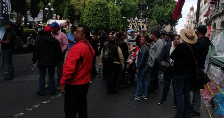 Solicitan poblanos revocación de mandato de Claudia Rivera
