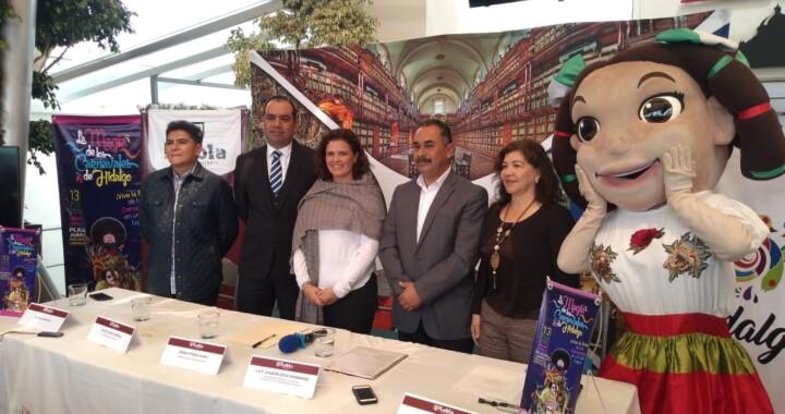 Colaborará Ayuntamiento de Puebla en el carnaval de Hidalgo