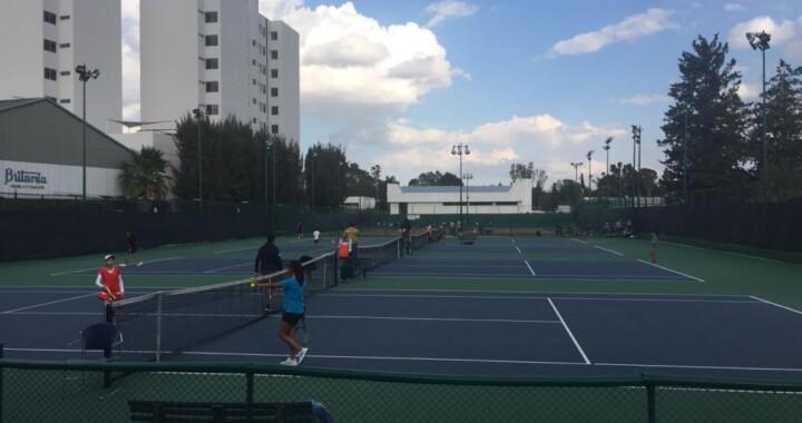 Empieza torneo regional de tenis