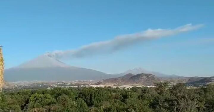 El Popocatépetl tiene demasiadas contracciones