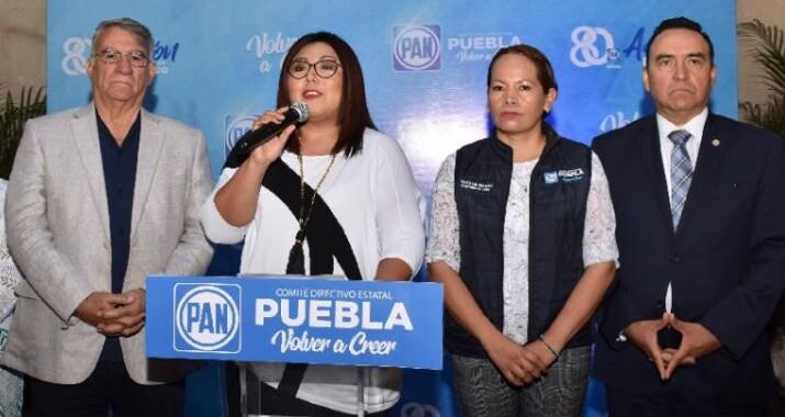 """PAN Puebla pide dejar de lado las """"burdas cortinas de humo"""" ante los feminicidios"""