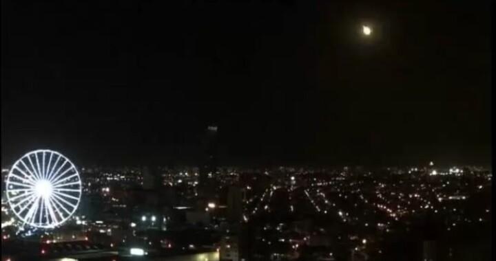 Protección Civil confirma avistamiento de meteorito en México