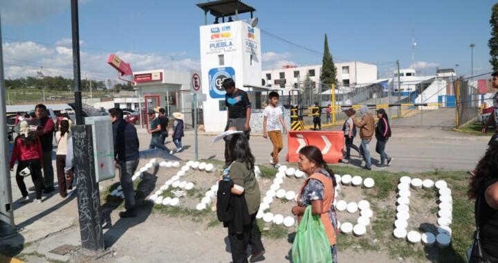 Familiares de reos de San Miguel protestan por suspensión de visitas