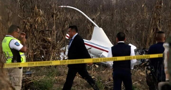 Presentan dictamen final del accidente aéreo de Martha Erika Alonso y Rafael Moreno