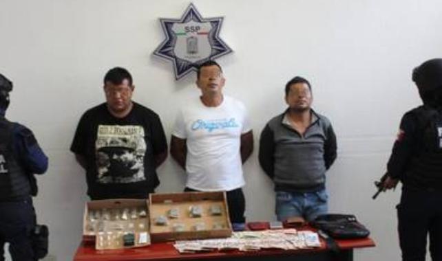 """Capturan a 3 integrantes del grupo delictivo de """"El Negro"""""""