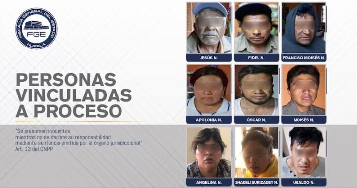 Capturan a nueve personas por posesión de drogas en Coronango