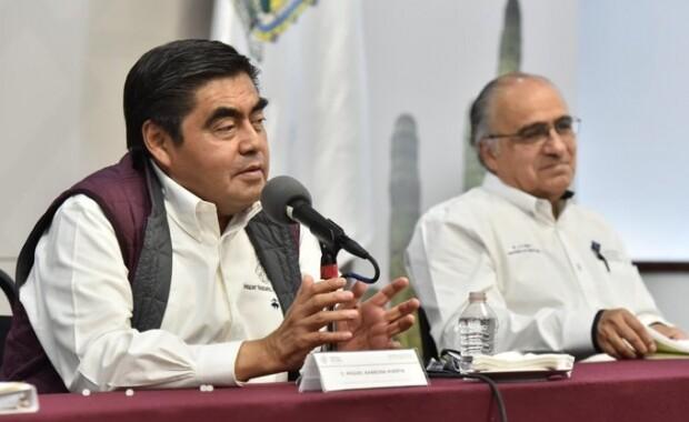 Miguel Barbosa dice estar trabajando de manera responsable y en estado absoluto de sobriedad