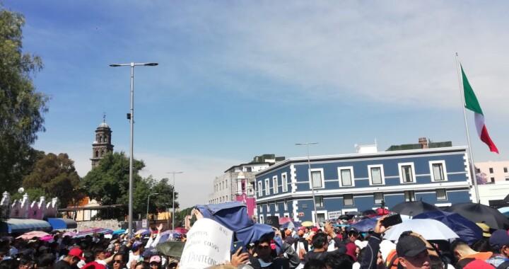 Marcha histórica de los estudiantes
