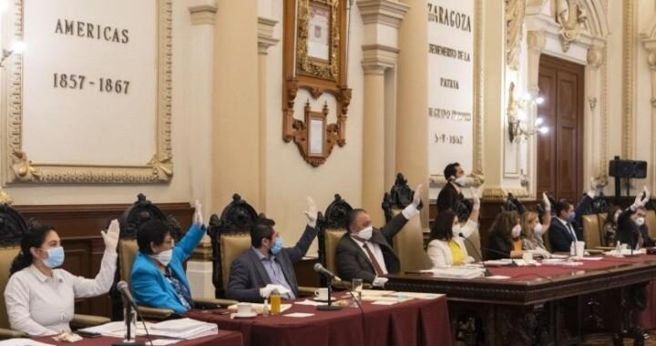 Cabildo poblano aprueba por mayoría situación financiera al 31 de marzo del 2020