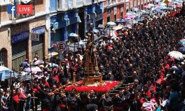 Por contingencia la Semana Santa en Puebla se transmitirá FB Live
