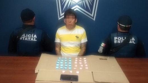 SSP captura a El Keops, distribuidor de droga en la capital poblana