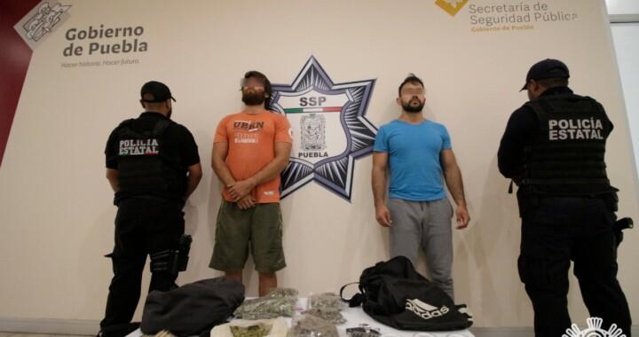 Vendían droga por facebook en Puebla