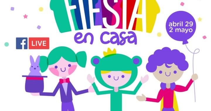 """Secretaría de Cultura presenta """"Fiesta en casa"""" por el día de las niñas y niños"""