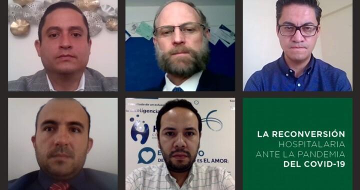 """Discuten académicos UDLAP """"La reconversión hospitalaria ante la pandemia del COVID-19"""""""