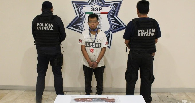 """Detiene SSP al principal distribuidor de drogas de la banda de """"El Macero"""""""