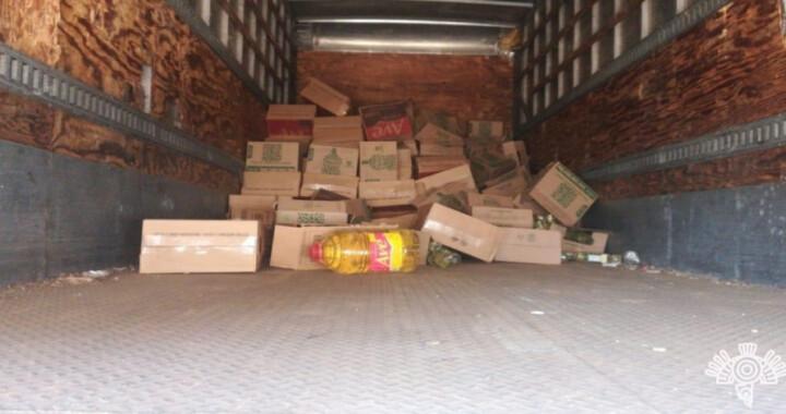 Recupera SSP camión con mercancía