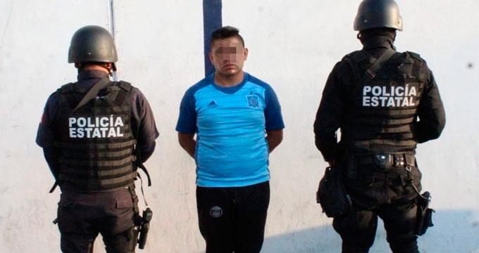 """Detienen a """"El Chuky"""", integrante de la organización criminal """"El Diablo"""""""