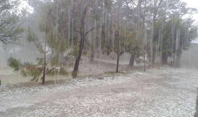 Azota fuerte lluvia a Tlaxcala