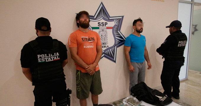 Ayudan labores de inteligencia a capturar a dos presuntos narcomenudistas