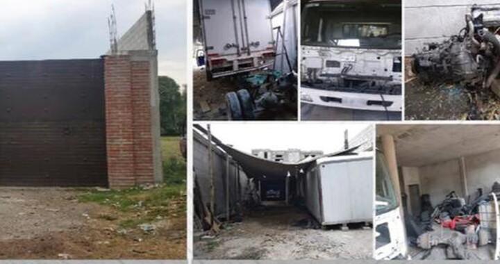 Fiscalía cateó inmueble con autopartes robadas en San Martín