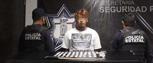 Captura SSP a principal narcovendedor de grupo delictivo en Venustiano Carranza