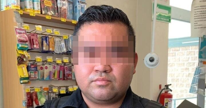 Policía Estatal detiene a hombre por presunta usurpación de funciones