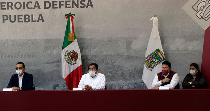 Lidera Miguel Barbosa conmemoración del 156 aniversario de la Defensa del Sitio de Puebla