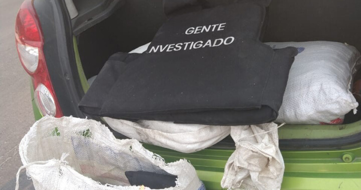 Capturan a hombre por transportar chalecos antibalas policíacos apócrifos