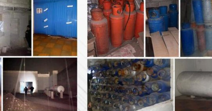 Durante cateo en Tecamachalco recuperan 174 tanques de gas