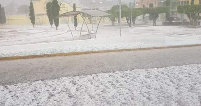 Provoca granizada daños en Tecamachalco y a las viviendas