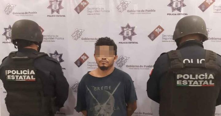 Narcomenudista de Zinacatepec fue detenido por la SSP