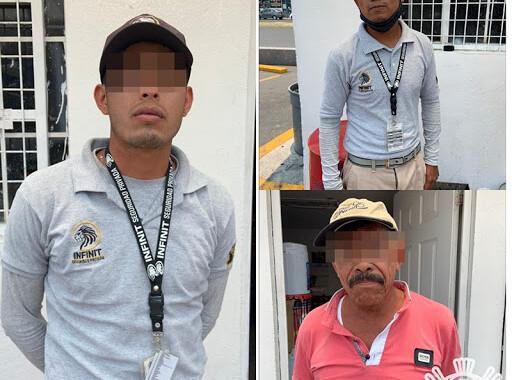 SSP detienen a tres personas por usurpación de funciones