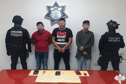 Capturan a presuntos asaltantes de tiendas departamentales