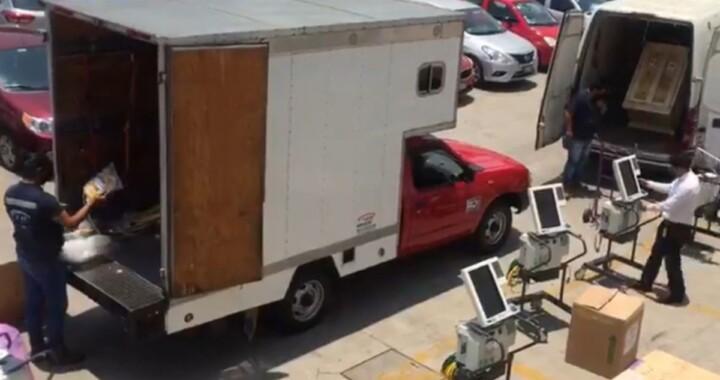 Asegura empresa Fulle Hen las buenas condiciones de los ventiladores vendidos al Ayuntamientos