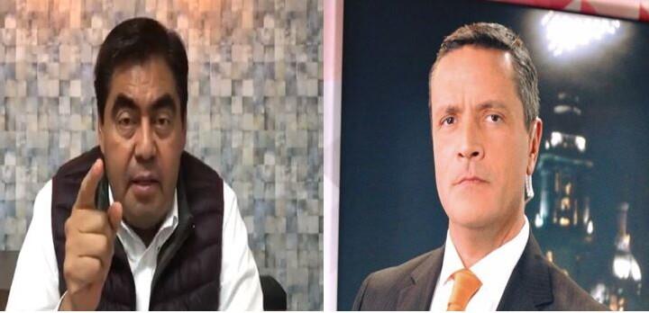 'Agarrón' entre Miguel Barbosa y periodista Francisco Zea en redes sociales