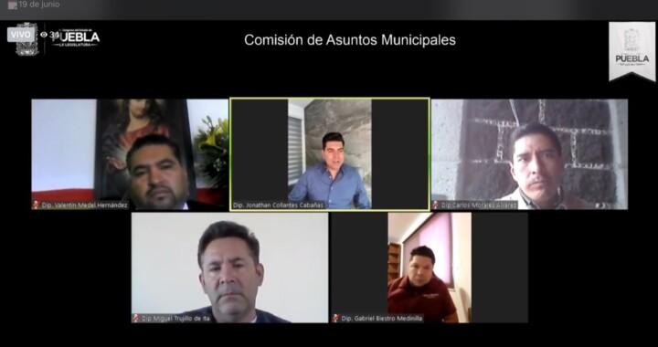 Avalan en Comisión que ayuntamientos transmitan sesiones de Cabildo en línea