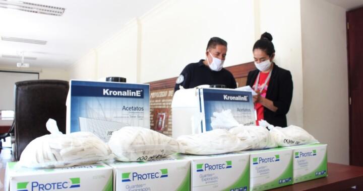 """""""Juntos por Puebla Covid-19"""" apoya con material de protección sanitaria a instituciones de Seguridad y Justicia"""