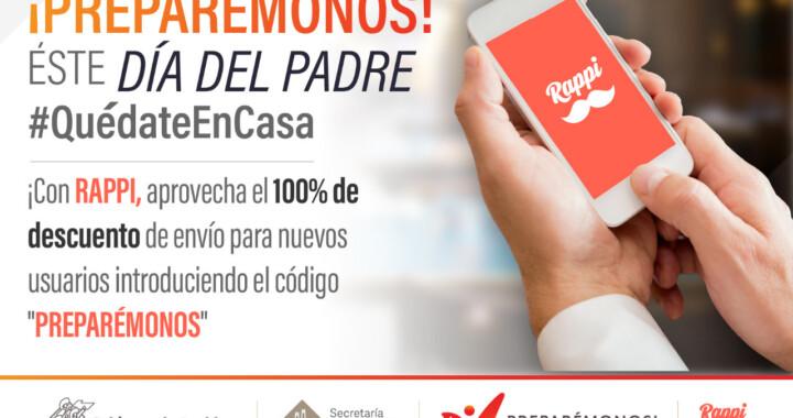 """Plataformas digitales se suman a Quédate en Casa el """"Día del Padre"""""""