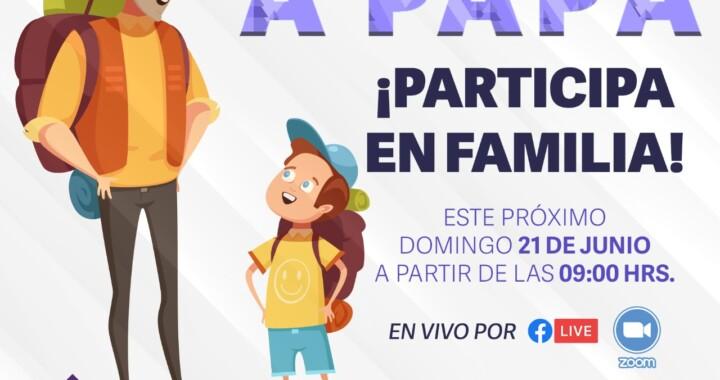 "El Instituto Poblano del Deporte lanza ""Reto Trail, Festejando a Papá"""