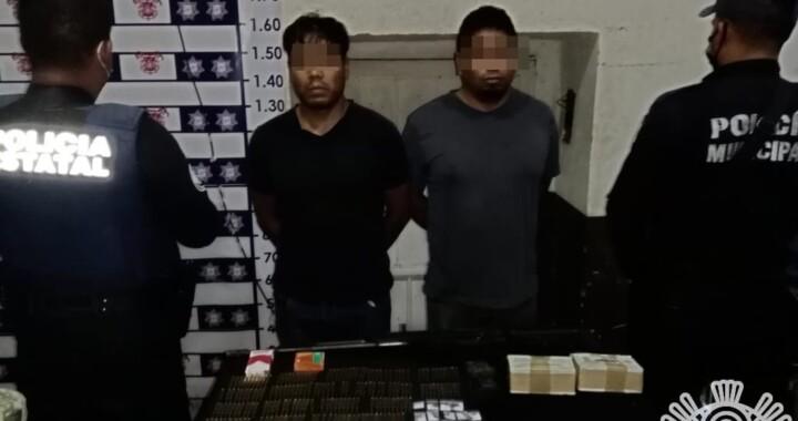 Policías estatal y municipal, Guardia Nacional y Ejército, capturan a hombres armados