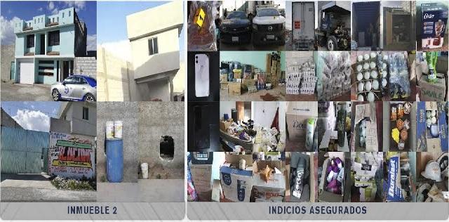 Fiscalía cateó dos inmuebles conectados entre sí en Palmar de Bravo