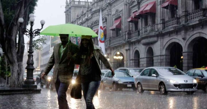 CONAGUA alerta sobre fuertes lluvias en Puebla