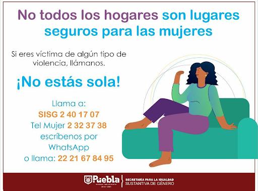Gobierno de la Ciudad brinda atención ininterrumpida a mujeres en situación de violencia