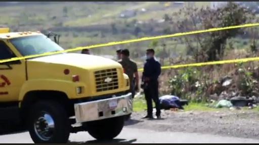 Con tiro de gracia asesinan a comerciante de Pollos, lo abandonan en carretera