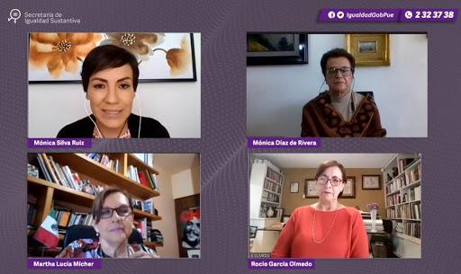 Realiza Igualdad Sustantiva conversatorio sobre violencia política de género