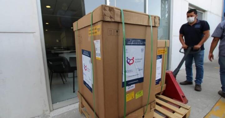 BBVA:dona ventiladores para pacientes de Covid-19 en Puebla