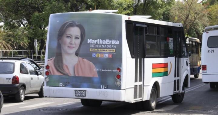 Progresa reforma electoral que prohibirá propaganda electoral en transporte público