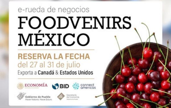 Empresas poblanas participan en la e-rueda de negocios Foodvenirs México