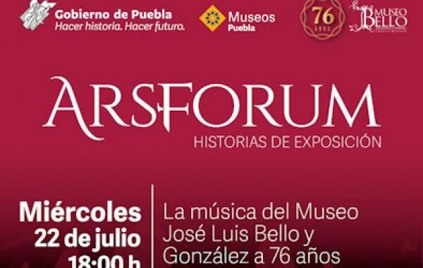 Celebra el museo José Luis Bello y González 76 aniversario